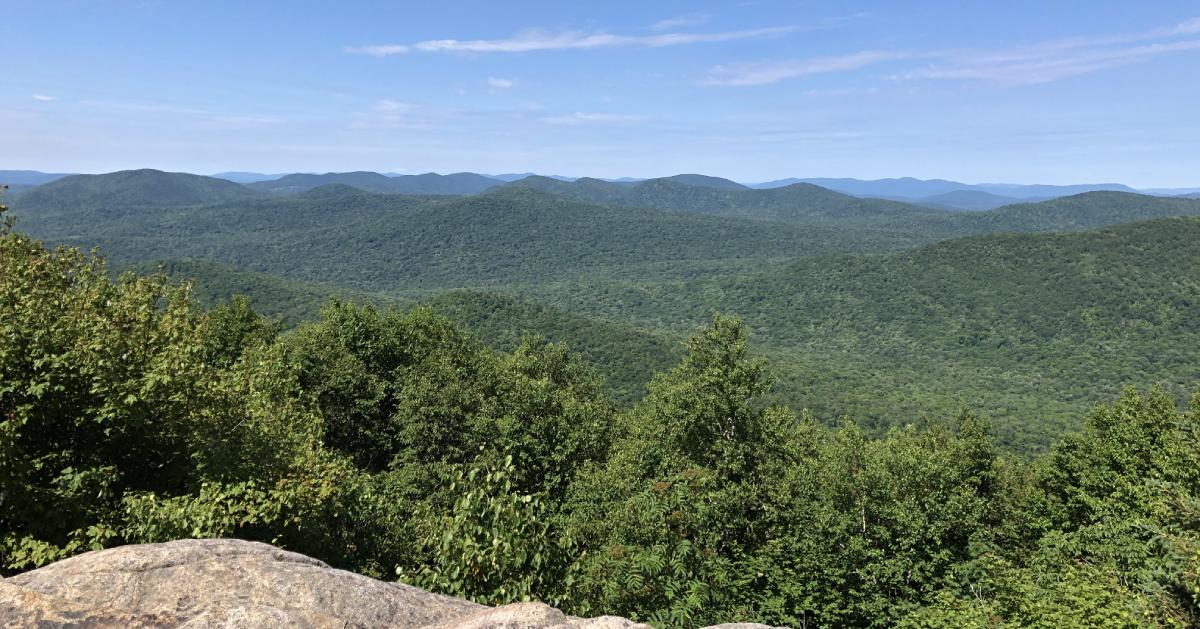 summit of hadley mountain