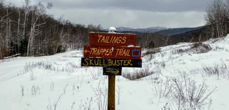 trail sigs in winter