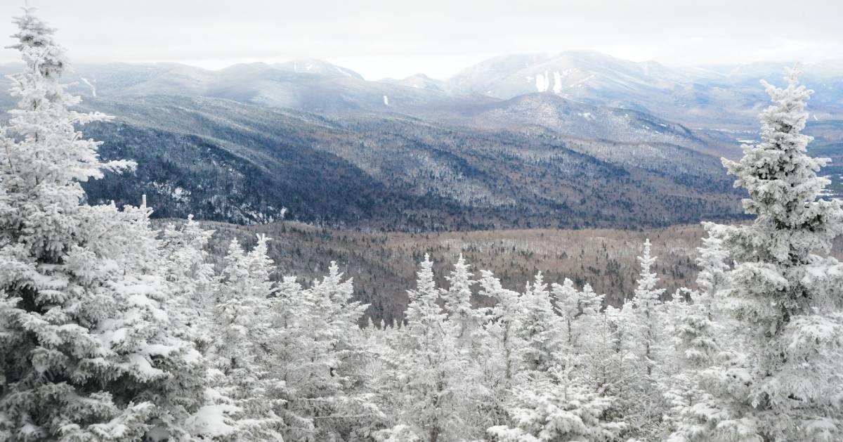 winter summit view