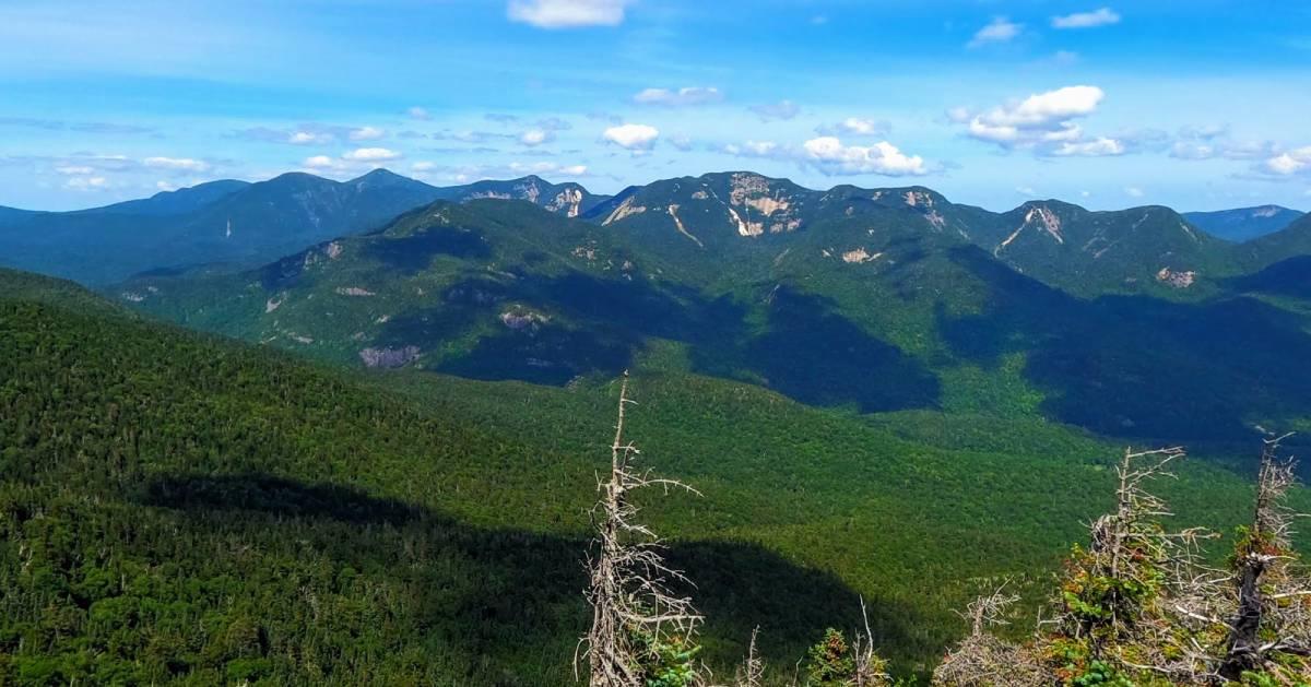 mountain summit view