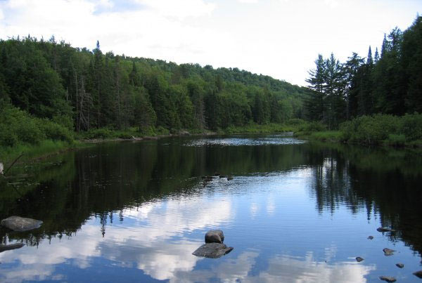 Long Lake in the Adirondacks