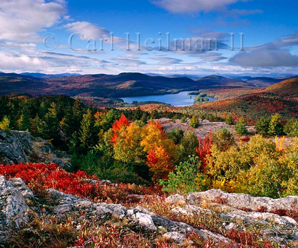 fall foliage in the adirondacks