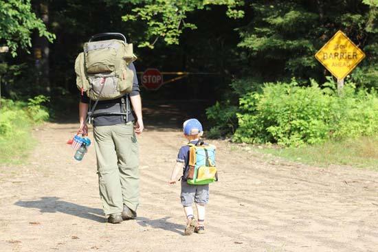 Kid Friendly Hike Lake Placid