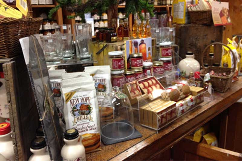maple goods at the silo