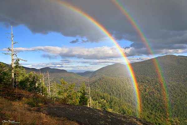 Baxter Mountain Rainbows