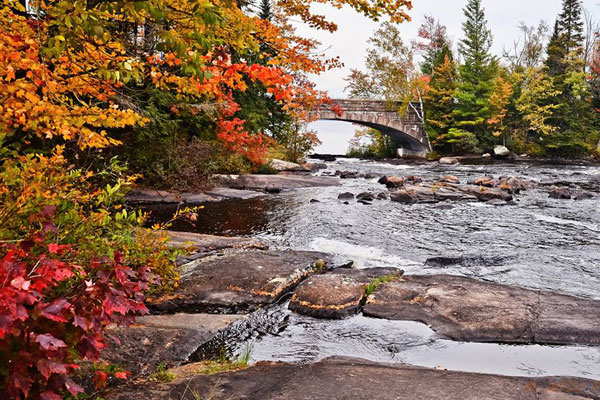 Jeffrey Boucher: Bog River Falls, Tupper Lake