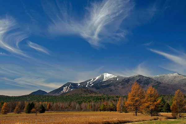 Julie Goodblood Clark: Whiteface in the morning sun. Taken from Rt 86.