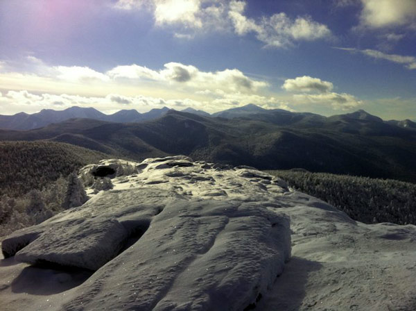 View from the summit of Cascade mountain