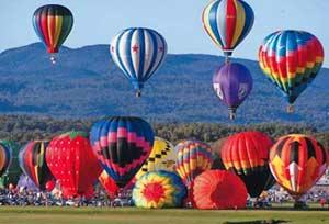 Adirondack Balloon Festival - Balloon Launch