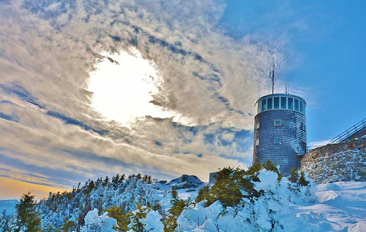 whiteface observation tower