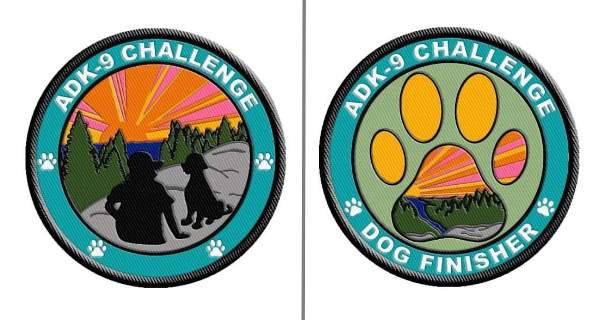 ADK 9 Challenge patches