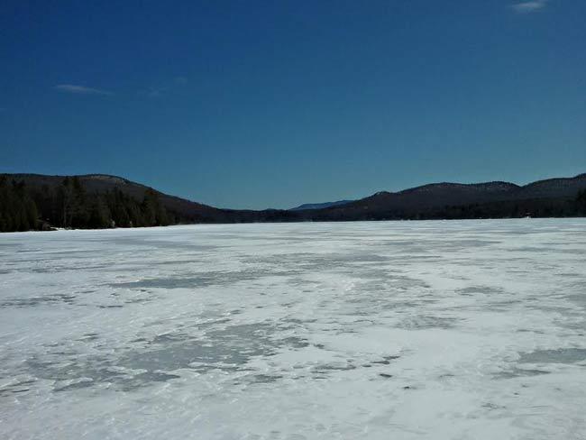 frozen Lake Titus