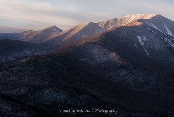 dix range in winter