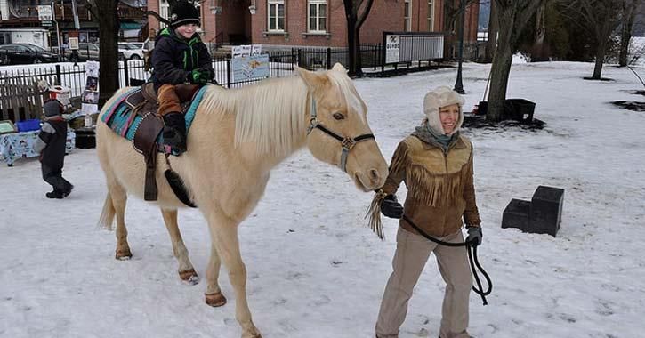 a pony ride