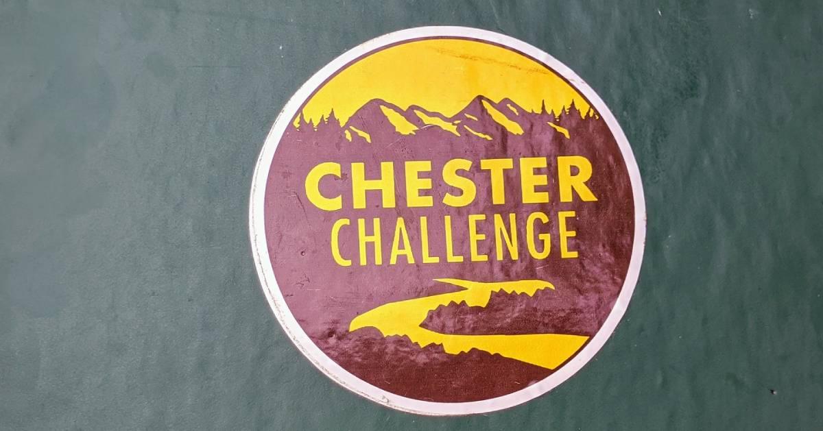 Chester Challenge sticker
