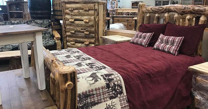 colorado aspen bedspread