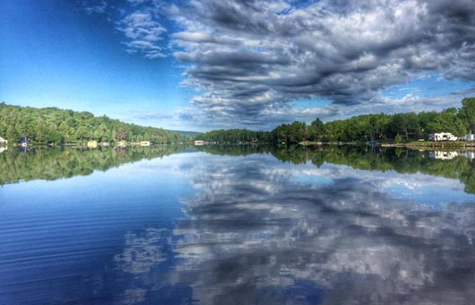 Cranberry Lake In The Adirondacks