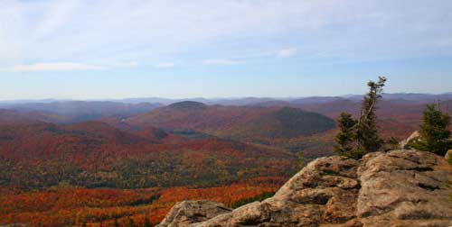 Crane Mountain: View From The Top