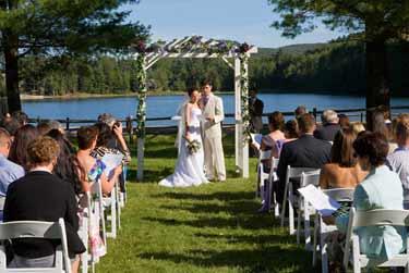 Wedding at Echo Lake