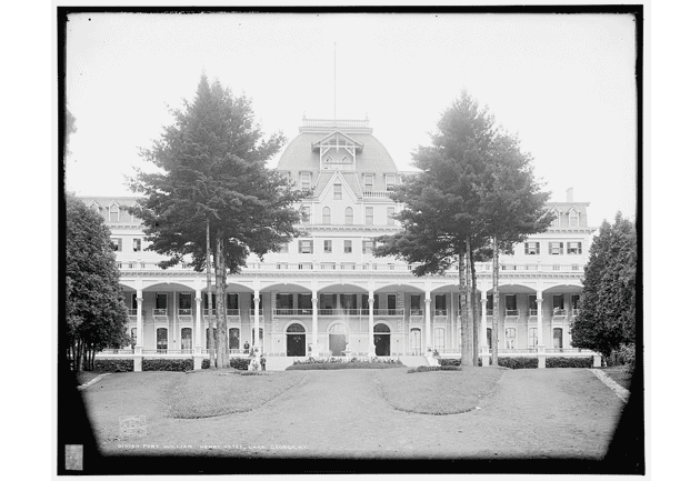fort william henry hotel on lake george