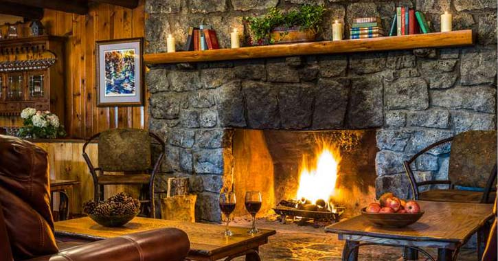 Find Cozy Winter Lodging With Fireplaces in the Adirondacks