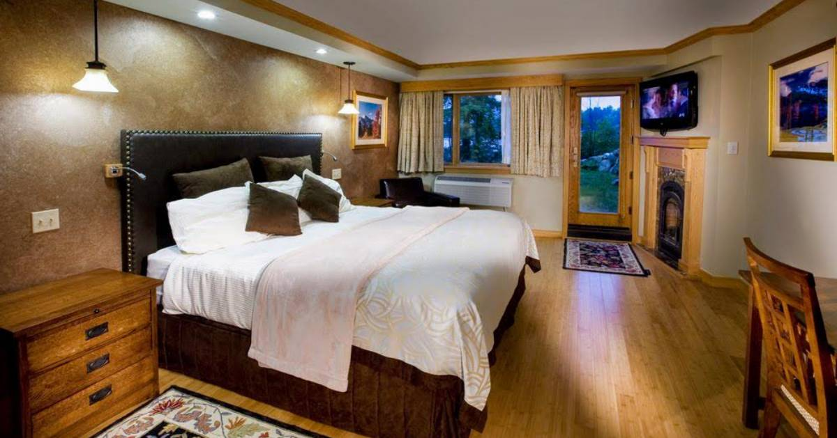 bedroom at resort