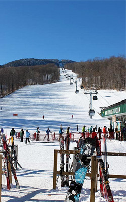 Gore Mountain Ski Resort in North Creek NY
