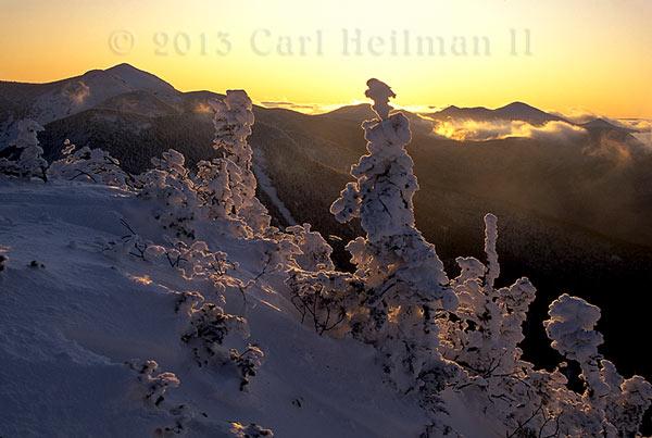 sunset on Gothics summit