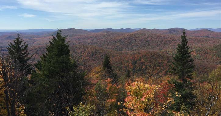 fall hike hadley