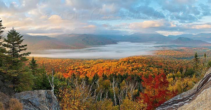 fall foliage mountain