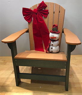 adirondack chair holiday