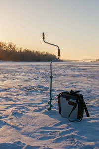 ice fishing tools
