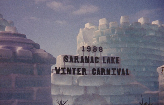 saranac lake winter carnival ice palace