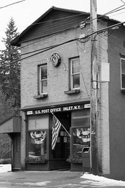 Post Office in Inlet, NY