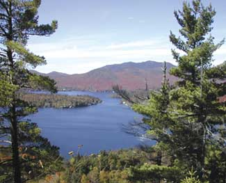 Lake Placid waters