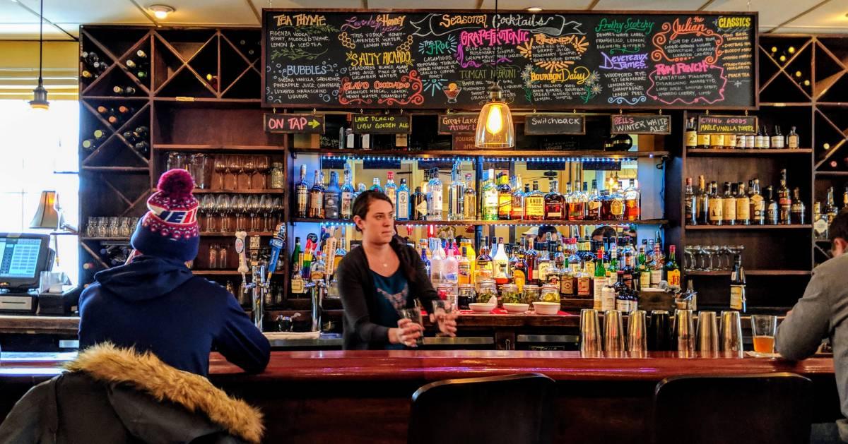bartender at bar