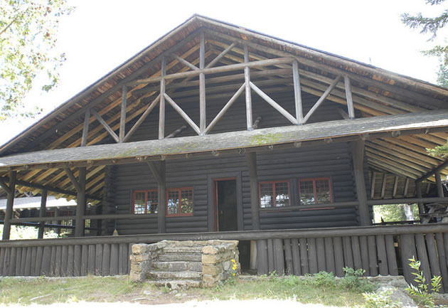 main lodge at camp santanoni