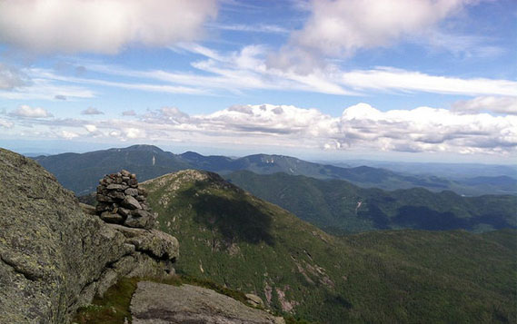 view from mount marcy