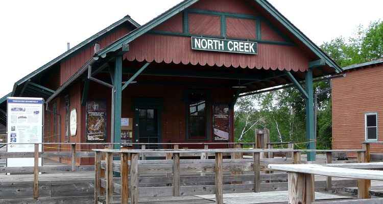 north creek train depot