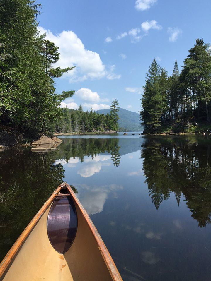 canoe in adks