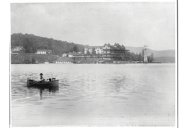 prospect house on blue mountain lake