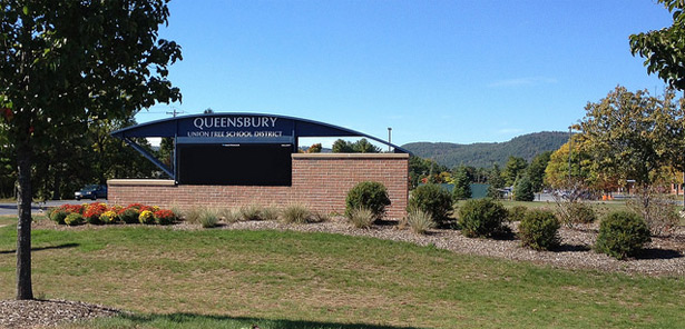 queensbury union free school district sign