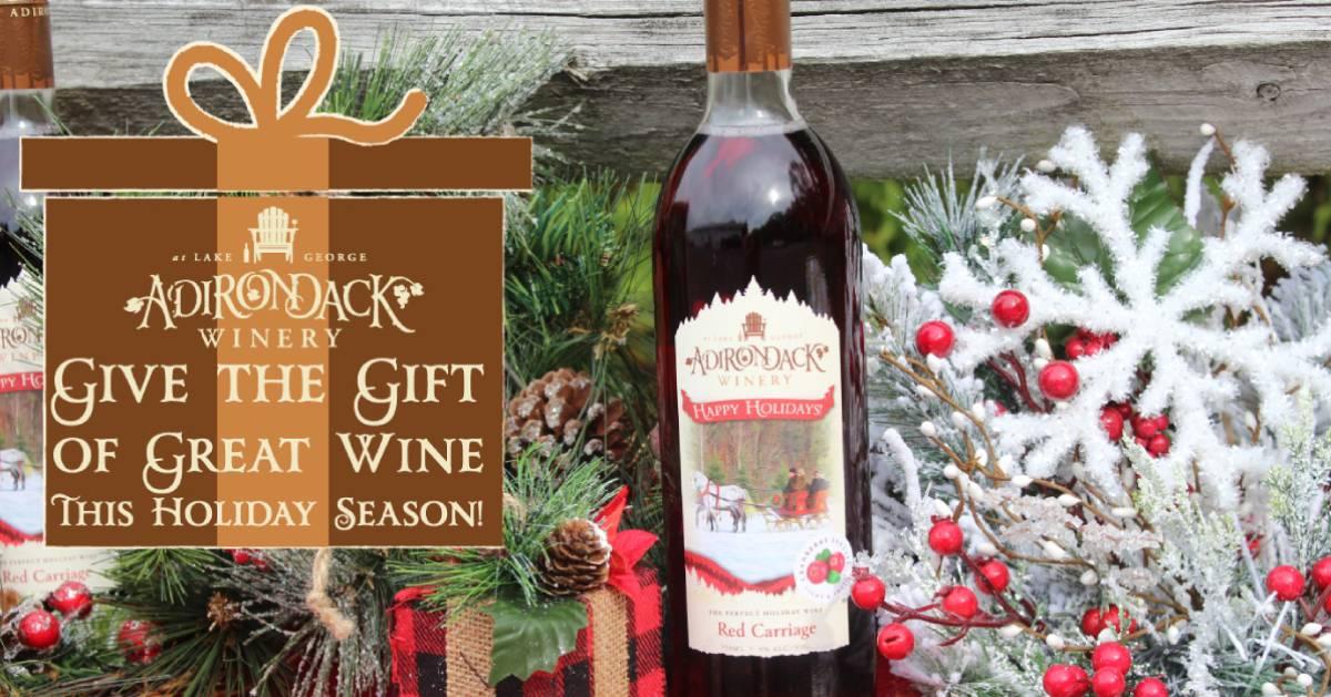 Adirondack Winery's cranberry holiday wine