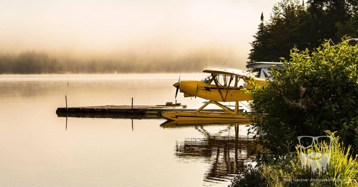 seaplane in water