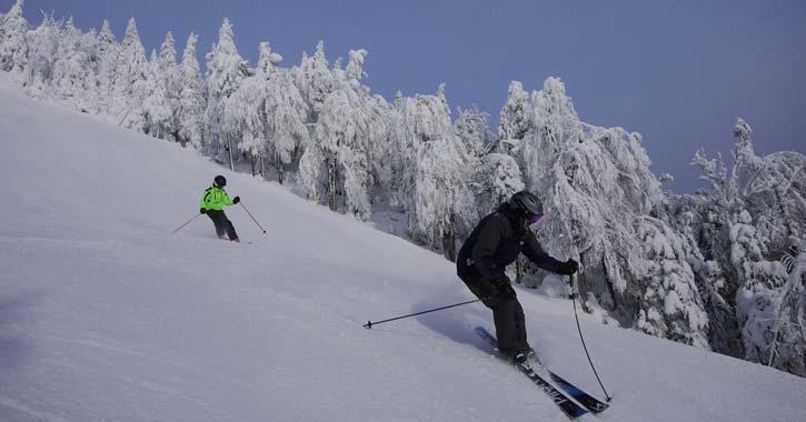 a ski adventure