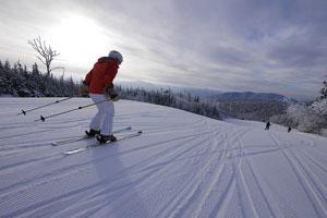 skiing at gore mountain