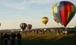 Hot Air Balloons at the Adirondack Balloon Festival