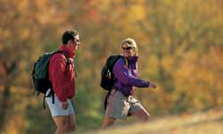 Hiking during Fall Foliage Season in the Region