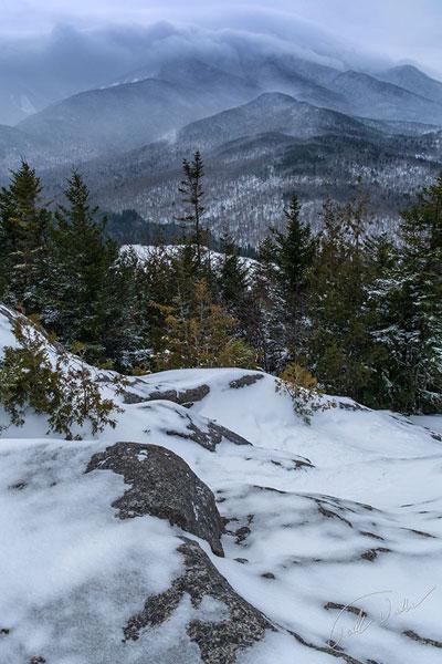 mt jo view in winter