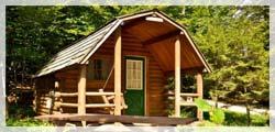 Rustic room in the Adirondacks